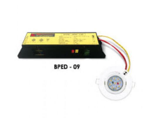 MAX BRIGHT Emergency Battery Pack 1x9 w. Battery 6V. 1200 mAh. Back-up 2 Hr. Model. BPED-09