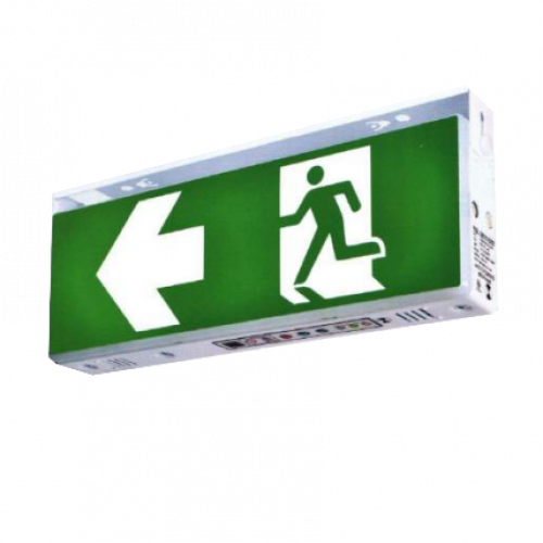 MAXBRIGHT Emergency Exit light Battery 3.6V.1800 mAh. Back-up 2 Hr. Model.EXB-WP 111-IP65