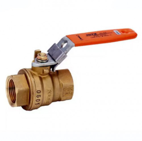 KITZ Brass Ball Valve W.O.G. 600 Psi. Thread End BS21 Size 1-1/2 Inch. model. AKTAF