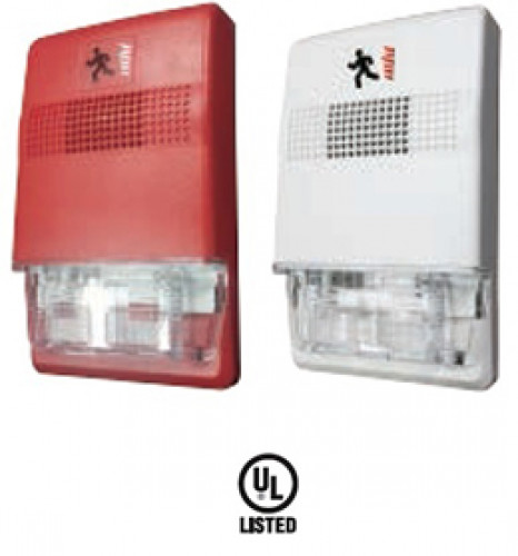 GST Wall Mount Sounder (Red) Model. DC-M9415R