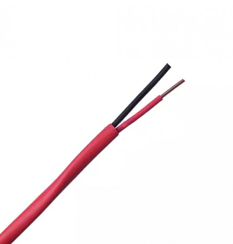 LINK Fire Alarm Unshield Twisted Cable 2x14 AWG 1 pair 100m. Model.CB-0114 (Price/m.)