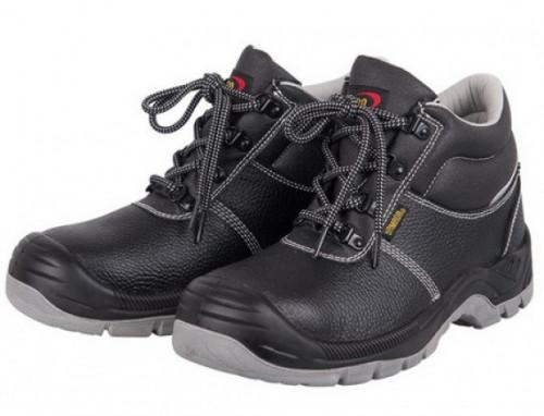 รองเท้าเซฟตี้หนังแท้หุ้มข้อหัวเหล็ก #2 (36) รุ่น CMS2 YAMADA