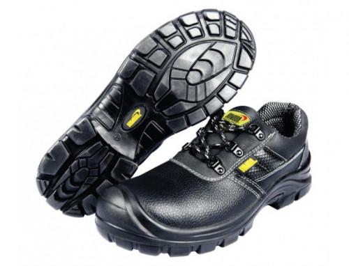 รองเท้าเซฟตี้หนังแท้หุ้มส้นหัวเหล็ก #4 (38) รุ่น CLS2 YAMADA