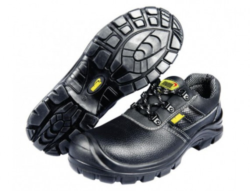 รองเท้าเซฟตี้หนังแท้หุ้มส้นหัวเหล็ก #10 (44) รุ่น CLS2 YAMADA