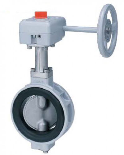 KITZ Aluminum Butterfly Valve CF8M W.O.G. 150 Psi. Gear Wafer Model. G-10XJMEA