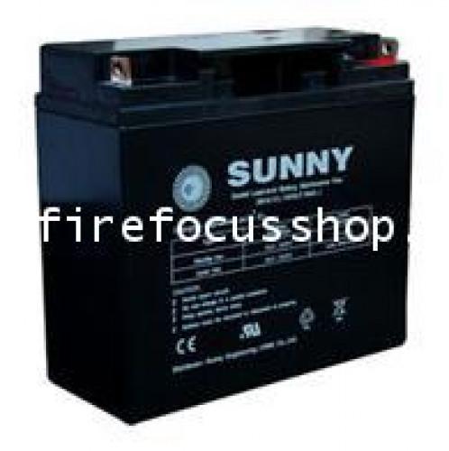SUNNY แบตเตอรี่แห้งชนิดตะกั่วกรดขนาด 12V-18AH รุ่น SN18-12