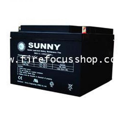 SUNNY แบตเตอรี่แห้งชนิดตะกั่วกรดขนาด 12V-26AH รุ่น SN26-12