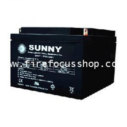 SUNNY แบตเตอรี่แห้งชนิดตะกั่วกรดขนาด 12V-40AH รุ่น SN40-12
