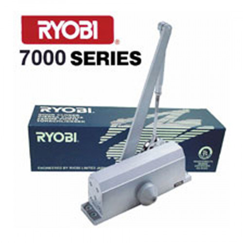 โช๊คอัพประตู 7000 Series Surface Mounted ยี่ห้อ RYOBI รุ่น 7004/7004P