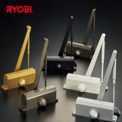 โช๊คอัพประตู 8000 Series Surface Mounted ยี่ห้อ RYOBI