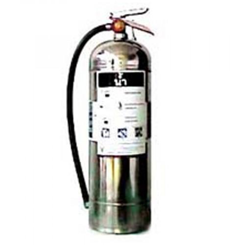 FIREMAN  ดับเพลิงชนิดวอเตอร์แก๊ส (Water Gas) ตัวถังสแตนเลส ขนาด 9 ลิตร