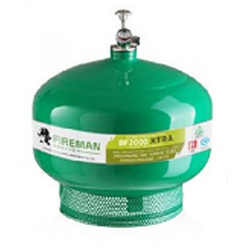 FIREMAN  ดับเพลิงทำงานเองอัตโนมัติชนิดน้ำยาเหลวระเหยแบบแขวนเพดาน 15 ปอนด์