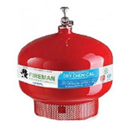 FIREMAN  ดับเพลิงทำงานเองอัตโนมัติชนิดผงเคมีแห้งแขวนเพดาน 15 ปอนด์