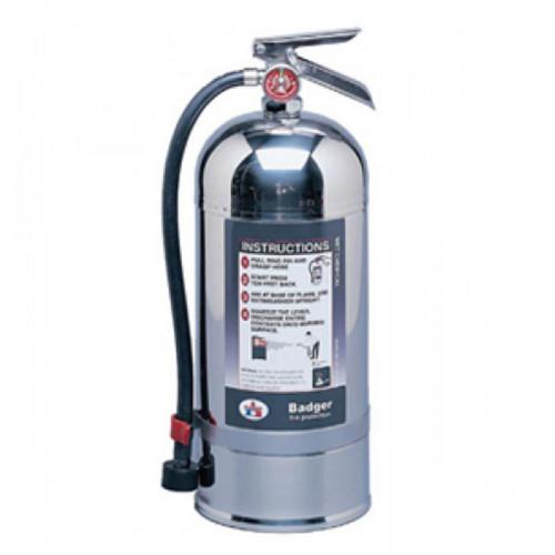 BADGER  เครื่องดับเพลิงชนิดเคมีเหลว Class K ขนาด 9.43 ลิตร รุ่น WC-250 มาตรฐาน UL