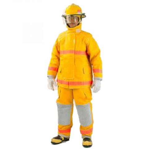 ชุดดับเพลิงในอาคาร เนื้อผ้า Nomex lll A 7.5 oz E-89 NomexQ8 มาตรฐาน NFPA ยี่ห้อ IST