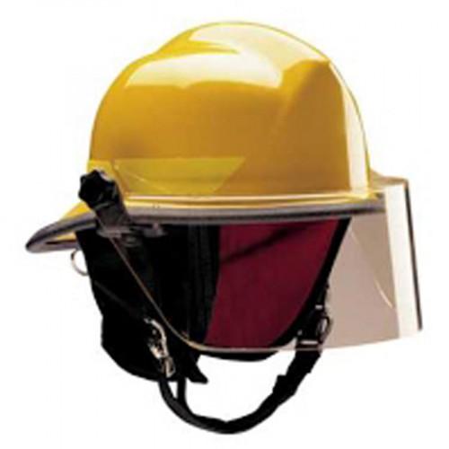 หมวกดับเพลิง ยี่ห้อ Bullard รุ่น LTX สีเหลืองมะนาว มาตรฐาน NFPA