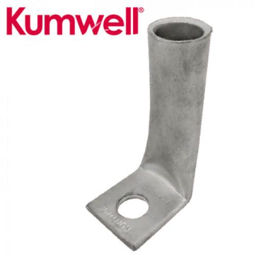 KUMWELL Copper Lugs High Voltage 1 hole Long Barrel Model. KOHL