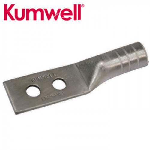 KUMWELL Copper Lugs High Voltage 2 hole (For Communication Ground Bar) Model. KTH