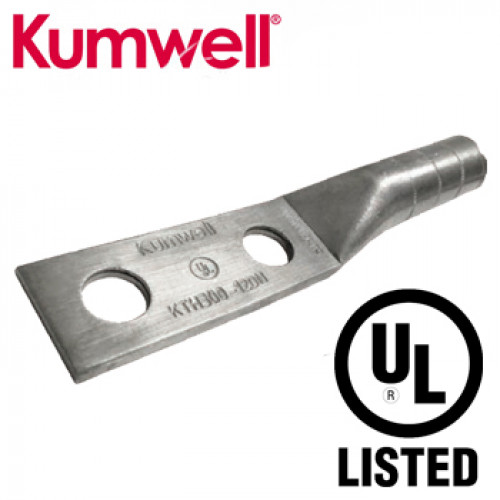 KUMWELL Copper Lugs High Voltage 2 hole UL Listed Model. KTH