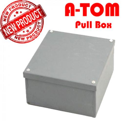 พูลบ๊อกซ์ (Pull Box) แบบธรรมดา พ่นสีฝุ่นหนา เหล็กหนา 0.5 mm. สำหรับงานภายใน