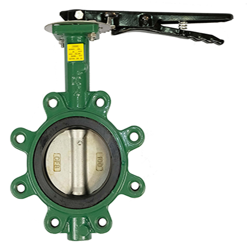 CRANE Ductile Iron Butterfly Valve Series 200 SS304 Disc ,Wafer Type Model. Handle