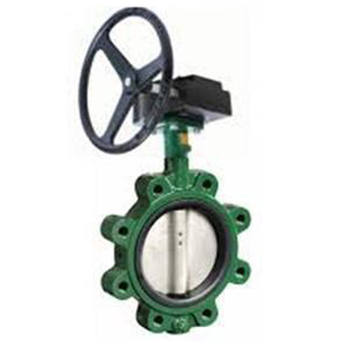 CRANE Ductile Iron Butterfly Valve Series 200 SS304 Disc ,Wafer Type Model. Gear
