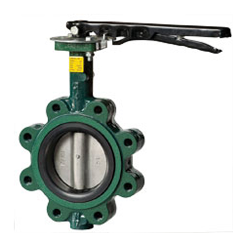 CRANE Ductile Iron Butterfly Valve Series 200 SS304 Disc ,LUG Type Model. Handle