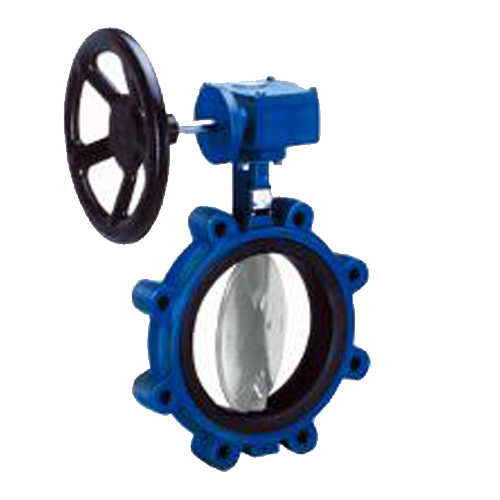 CRANE Ductile Iron Butterfly Valve Series 200 SS304 Disc ,LUG Type Model. Gear