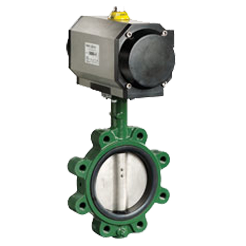 CRANE Ductile Iron Butterfly Valve Series 225 SS304 Disc ,Wafer Type Model. Motorized