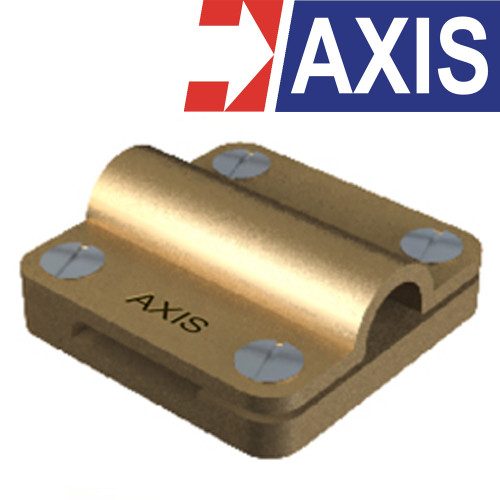 AXIS Copper Alloy Square Clamp With Combination Model. SCC95253  23x3 mm.(70-95 mm.)