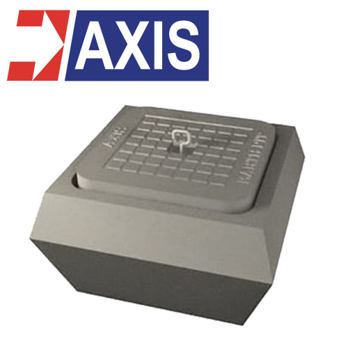 AXIS Concrete Earth Pit 5 Ton Capacity 300x300 mm. Model. CEP3030