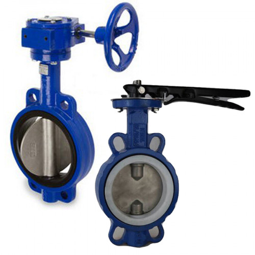 VALOR Ductile Iron Butterfly Valve Wafer Type SUS304 ,PN16 Model. V601W