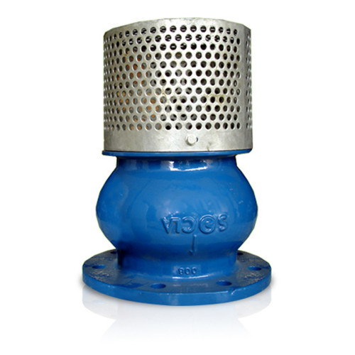 SOCLA   Cast Iron Foot Valve PN10  Model. G13190   1-1/2 Inch.