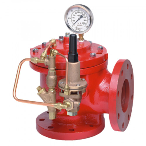 OCV Fire Pump Relief Valves, UL, Flange End Class 300 Model. G01C108FCF15100  4 Inch.