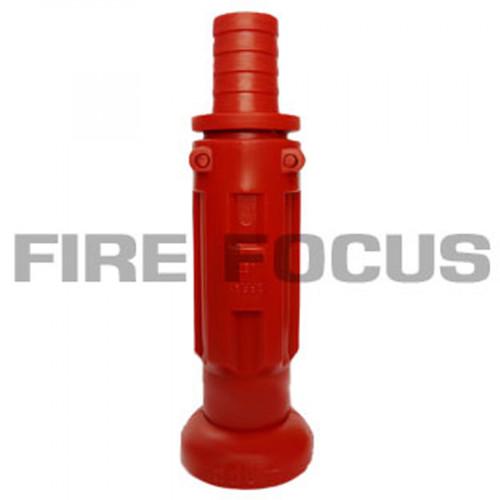 หัวฉีดน้ำดับเพลิง PVC, Inlet 1 inch., Outlet 18-1/2 Inch. สำหรับสวมสายยาง Hose Reel