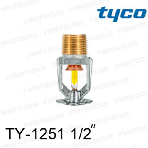 สปริงเกลอร์ แบบเพนเด้นท์ สีเหลือง TY-B 175F รุ่น TY-1251 (K2.8) 1/2 นิ้ว ยี่ห้อ TYCO