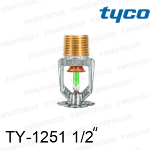 สปริงเกลอร์ แบบเพนเด้นท์ สีเขียว TY-B 200F รุ่น TY-1251 (K2.8) 1/2 นิ้ว ยี่ห้อ TYCO