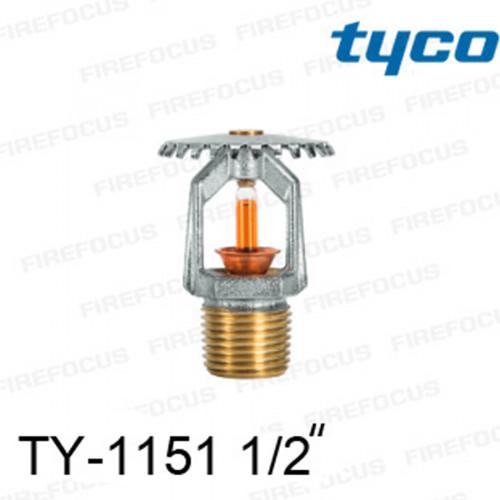 สปริงเกลอร์ แบบอัพไรท์ สีส้ม TY-B 155F รุ่น TY-1151 (K2.8) 1/2 นิ้ว ยี่ห้อ TYCO