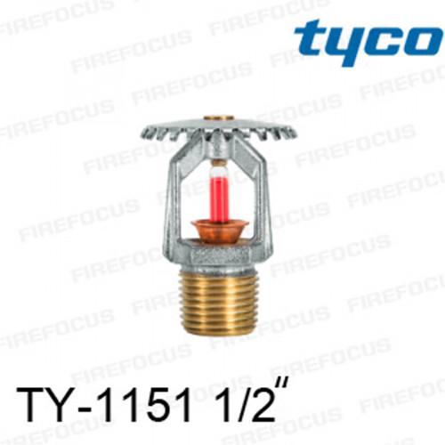 สปริงเกอร์ แบบอัพไรท์ สีแดง TY-B 155F รุ่น TY-1151 (K2.8) 1/2 นิ้ว ยี่ห้อ TYCO
