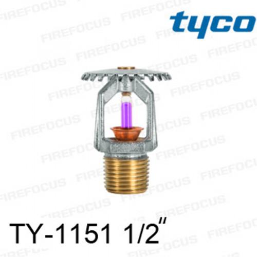 สปริงเกลอร์ แบบอัพไรท์ สีม่วง TY-B 360F รุ่น TY-1151 (K2.8) 1/2 นิ้ว ยี่ห้อ TYCO