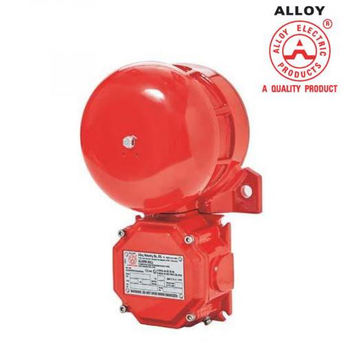 กระดิ่งกันระเบิด 6 นิ้ว 24VDC หรือ 220VAC zone 1,2 zone 21,22 hazardous area รุ่น DAB ยี่ห้อ Alloy