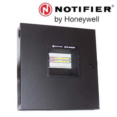 NOTIFIER 2 Zone Fire Alarm Control Panel 24VDC ,220VAC Model. SFP-2402UDE