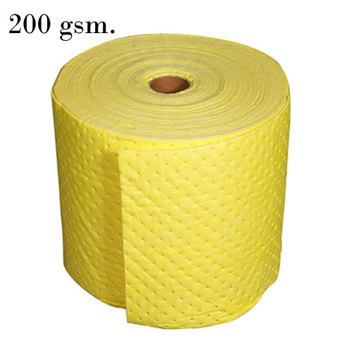 Chemical Absobent Rolls 200 gsm Yellow Model. STSPLCB311PC