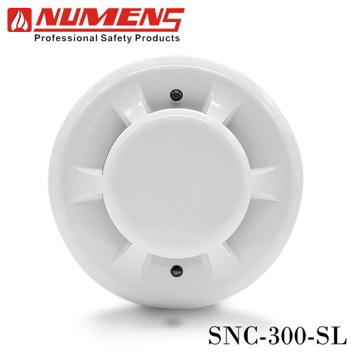 NUMENS Conventional Photoelectric Smoke Detector LED Output without Base Model. SNC-300-SL