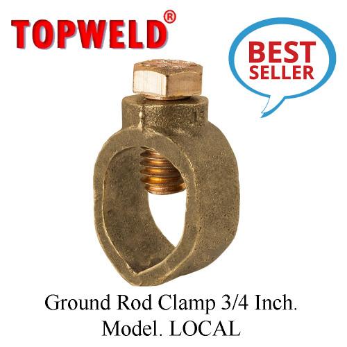 TOPWELD Ground Rod Clamp 3/4 Inch. Model. LOCAL