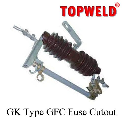 TOPWELD GK Type GFC Fuse Cutout According to ANSI / IEEE C37.42 Rate kV. 27 ,kA.8