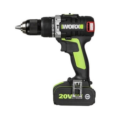 WORX สว่านกระแทกไร้สาย ไร้แปรงถ่าน 20V รุ่น WU309.1 1
