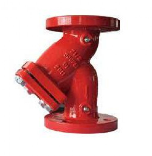 วายสเตนเนอร์ Y-Strainer Duction Iron Body 300 psi. ANSI150 flange, model.YS-300-FF มาตรฐาน UL