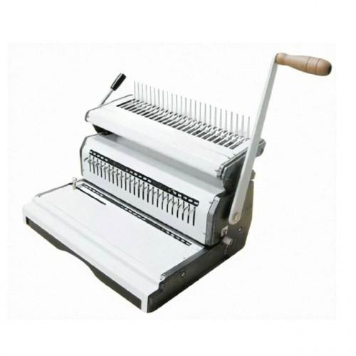 เครื่องเจาะกระดาษและเข้าเล่มมือโยกสันห่วงพลาสติก รุ่น Mac comb240