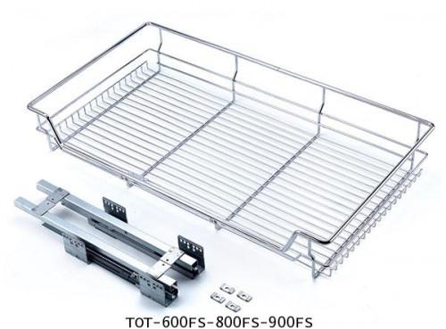 ตะแกรงอเนกประสงค์ สแตนเลส ใส่ของ ขนาด 60, 80, 90 ซม. (TOT-600FS-800FS-900FS) 1